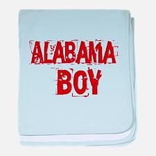 Alabama Boy baby blanket
