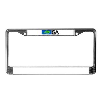 PNWISA License Plate Frame
