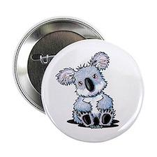 """Sitting Koala 2.25"""" Button (10 pack)"""