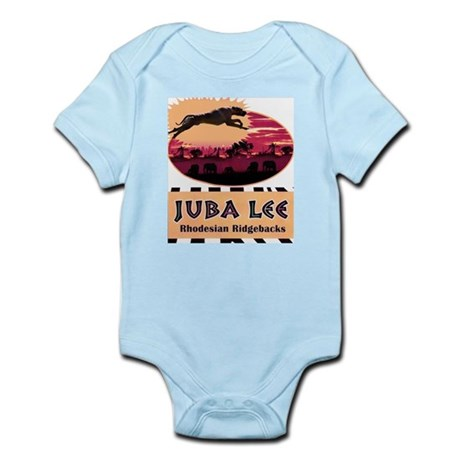 JUBA LEE LURE COURSING LOGO Infant Bodysuit