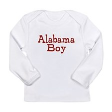 Alabama Boy Long Sleeve Infant T-Shirt