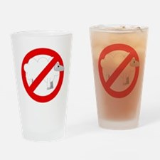 no sheep Drinking Glass