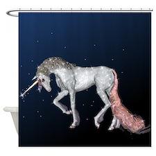 Unicorn Sparkles Shower Curtain