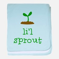 Cute Sprout baby blanket