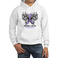 Butterfly General Cancer Jumper Hoody