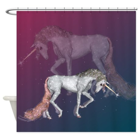 Unicorn Dreams Shower Curtain