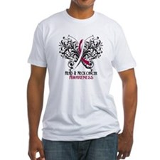 Butterfly Head Neck Cancer Shirt