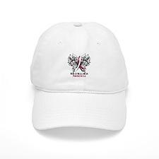 Butterfly Head Neck Cancer Baseball Cap
