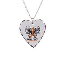 Butterfly Kidney Cancer Necklace