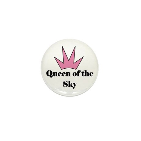 Queen of the Sky (pink) Mini Button (10 pack)