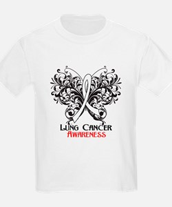 Butterfly Lung Cancer T-Shirt