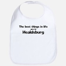 Healdsburg: Best Things Bib
