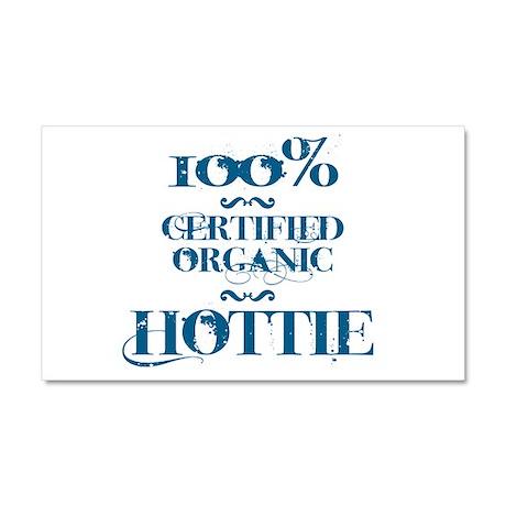 100% certified organic hottie Car Magnet 20 x 12