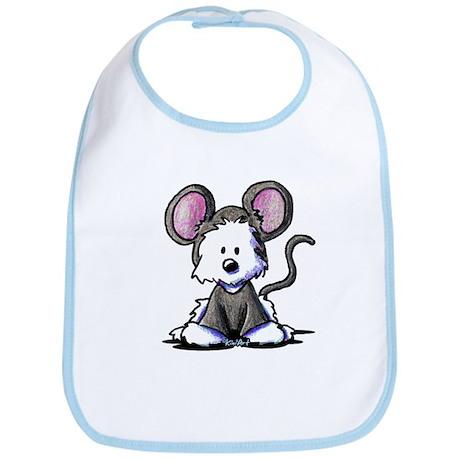 Westie Mouse Bib