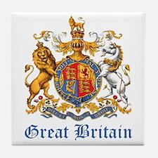 Royal Coat Of Arms Tile Coaster