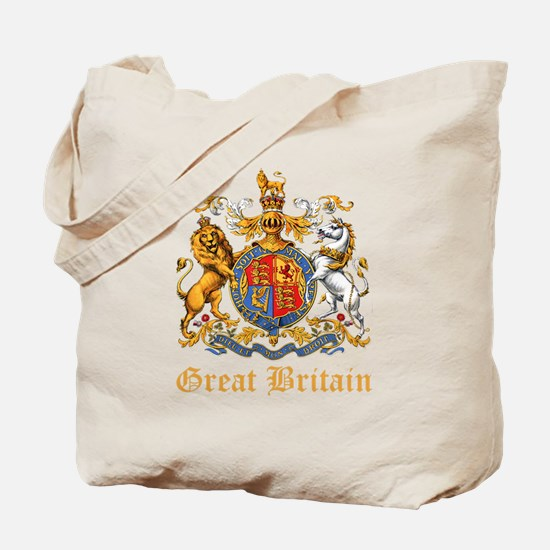 Royal Coat Of Arms Tote Bag