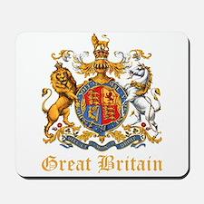 Royal Coat Of Arms Mousepad
