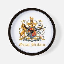 Royal Coat Of Arms Wall Clock