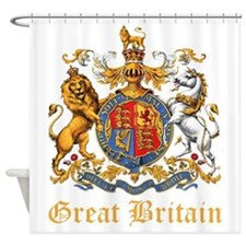 Royal Coat of Arms Shower Curtain