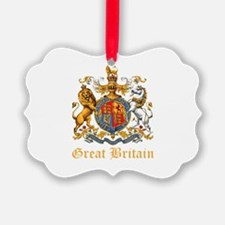 Royal Coat Of Arms Ornament