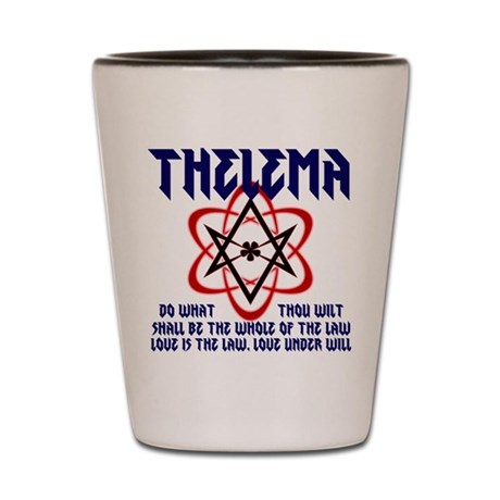 Thelema Rocks Shot Glass
