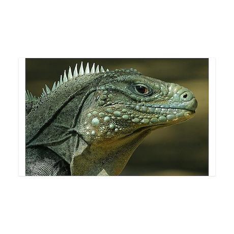 Big Green Lizard 38.5 x 24.5 Wall Peel