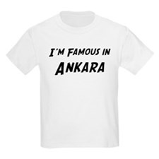 Famous in Ankara Kids T-Shirt