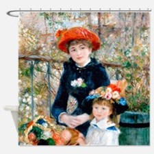 Renoir - Two Sisters Shower Curtain
