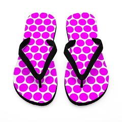 Pink Dots (FF) Flip Flops