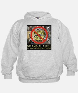 No Animal Abuse Hoodie