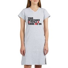 resistance futile Women's Nightshirt