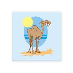 Camel Square Sticker 3
