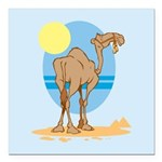 Camel Square Car Magnet 3