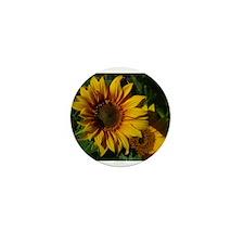 Sunny Sunflower Mini Button (100 pack)