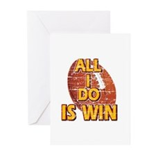 All I do is win American Football designs Greeting
