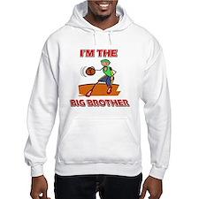 I'm the big brother Basketball Hoodie