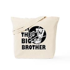 I'm the big brother Basketball Tote Bag