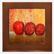 Apples Framed Tile