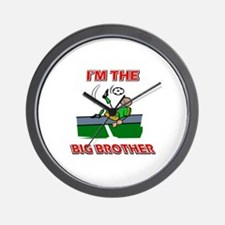 I'm the big brother Soccer Wall Clock