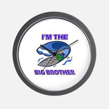 I'm the big brother Surfing Wall Clock