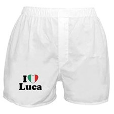 I Love Luca Boxer Shorts