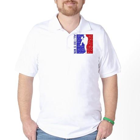 All I do is win Baseball designs Golf Shirt