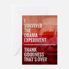 The Obama Experiment Greeting Card