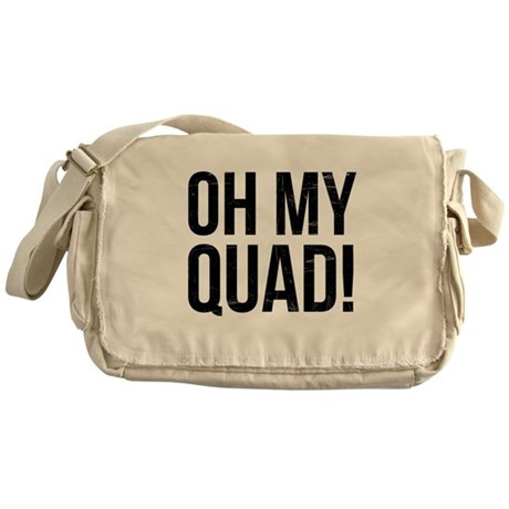 O. M. Q. Messenger Bag
