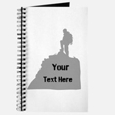 Hiking. Your Own Text. Journal