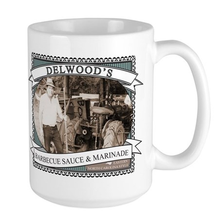 Delwoods Barbecue Sauce Logo Mugs