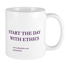 Start The Day With Ethics (Purple Letters)