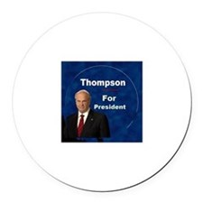 Fred Thompson for President Round Car Magnet
