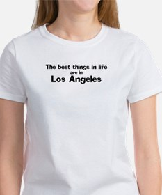 Los Angeles: Best Things Tee