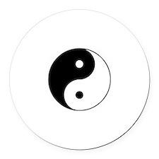 Yin Yang Taijitu Round Car Magnet